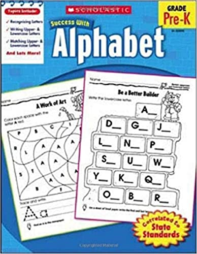 9780545200943: Scholastic Success with Alphabet
