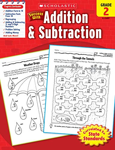 9780545200974: Scholastic Success with Addition & Subtraction, Grade 2