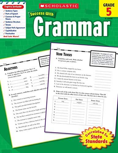 9780545201025: Scholastic Success With Grammar, Grade 5