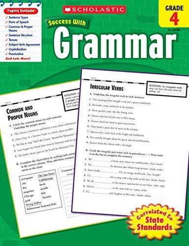 9780545201049: Scholastic Success With Grammar, Grade 4