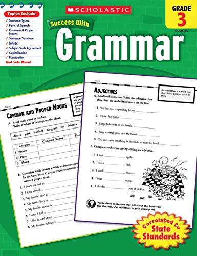9780545201056: Scholastic Success With: Grammar, Grade 3