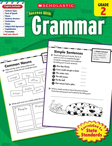 9780545201063: Scholastic Success With Grammar, Grade 2