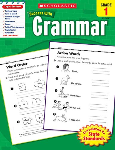 9780545201070: Scholastic Success With Grammar, Grade 1