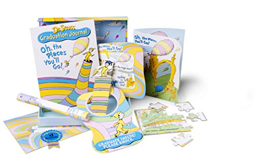 9780545202015: Oh, the Places You'll Go! [With Sticker(s) and Graduation Banner, Diploma, Doorhanger and Journal and Bookmark and Puzzle and (Dr. Seuss Happy Graduation Gift Set)