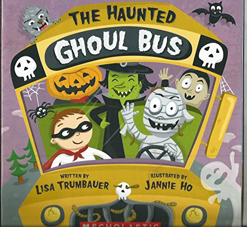 9780545203111: The Haunted Ghoul Bus