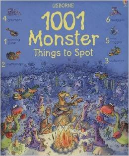 9780545203753: 1001 Monster Things to Spot