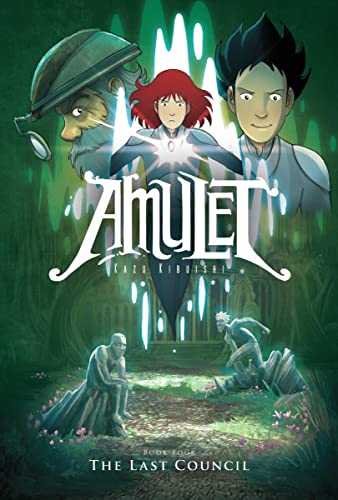Amulet #4: The Last Council: Kibuishi, Kazu