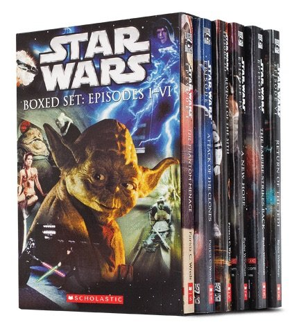 9780545219747: Starwars Children Library - 6 Book Coñlection Set