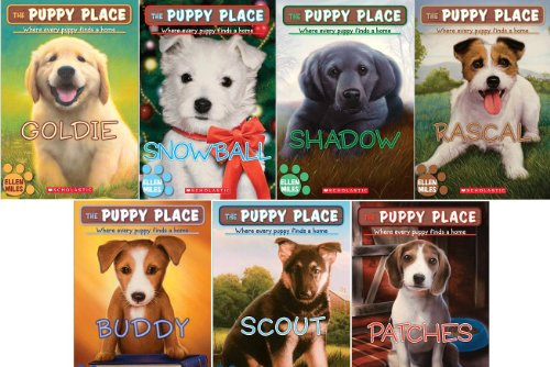 9780545219938: The Puppy Place 7 Book Set with Locket: Includes Goldie, Snowball, Shadow, Rascal, Buddy, Scout, Patches + Locket Necklace (The Puppy Place)