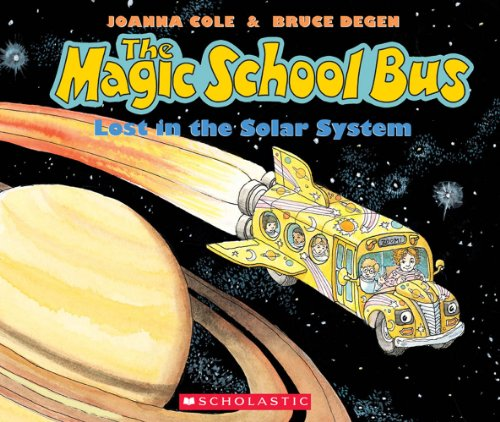 9780545220880: The Lost in the Solar System (the Magic School Bus) [With Paperback Book]