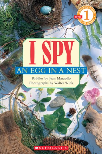 Scholastic Reader Level 1: I Spy an Egg in a Nest (0545220939) by Jean Marzollo