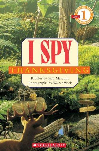 9780545220941: Scholastic Reader Level 1: I Spy Thanksgiving