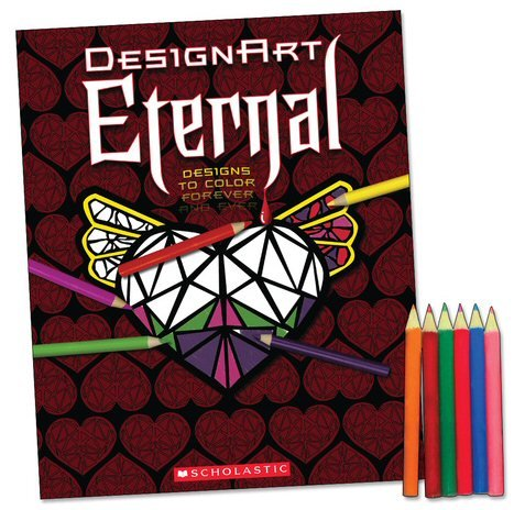 9780545221160: Design Art Eternal: Designs to Color Forever and Ever (DesignArt)