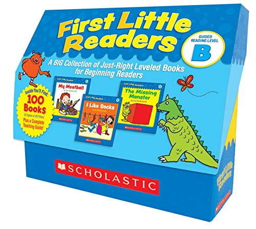 9780545223027: First Little Readers: Guided Reading Level B: A Big Collection of Just-Right Leveled Books for Beginning Readers [With Teacher's Guide]