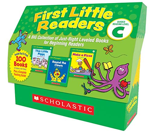 9780545223034: First Little Readers: Guided Reading Level C: A Big Collection of Just-Right Leveled Books for Beginning Readers
