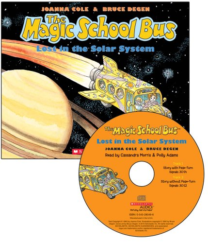 9780545223379: The Magic School Bus Lost in the Solar System - Audio Library Edition