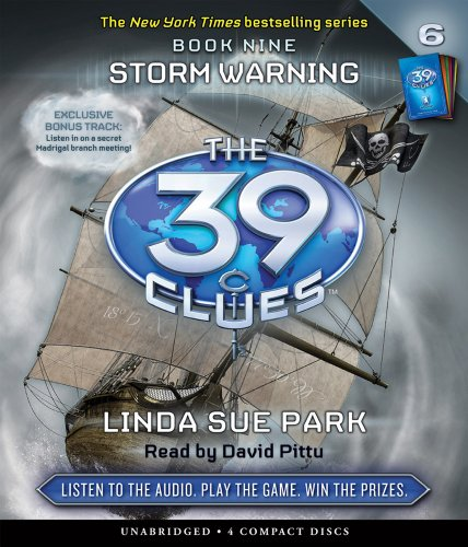9780545224819: Storm Warning (The 39 Clues, Book 9) - Audio