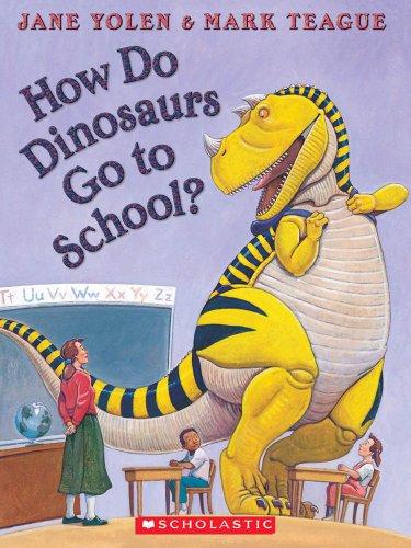 How Do Dinosaurs Go To School? Audio