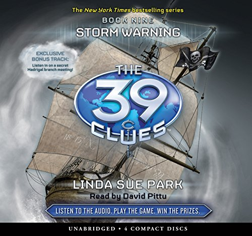 9780545226004: Storm Warning (The 39 Clues, Book 9) - Audio Library Edition