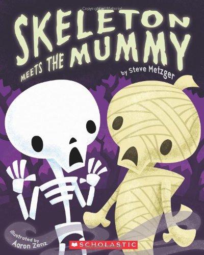 9780545230322: Skeleton Meets the Mummy