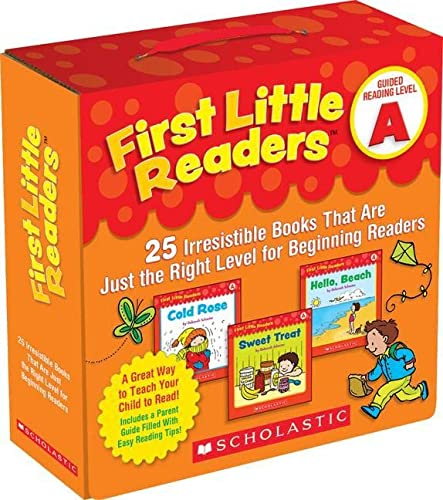 9780545231497: First Little Readers Parent Pack: Guided Reading Level A: 25 Irresistible Books That Are Just the Right Level for Beginning Readers