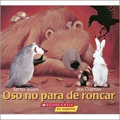 9780545232586: Oso No Para De Roncar (Bear Snores On)