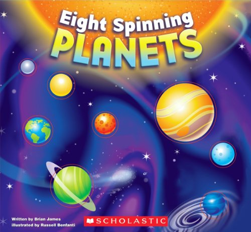9780545235174: Eight Spinning Planets