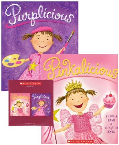 9780545235624: Pinkalicious & Purplicious Duo (CD & 2 Paperbacks)