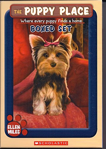 The Puppy Place 4 Book Boxed Set