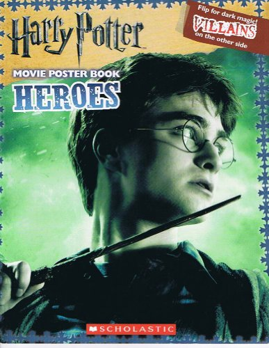 Harry Potter Movie Poster Book Heroes and Villians