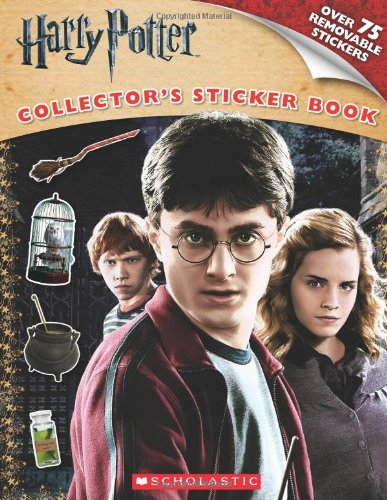 9780545237673: Harry Potter and the Deathly Hallows Part I: Sticker Book (Harry Potter Movie Tie-In)