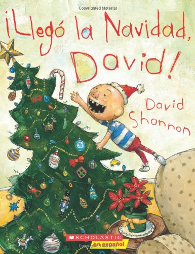 9780545238489: Llego La Navidad, David!: (Spanish Language Edition of It's Christmas, David!)