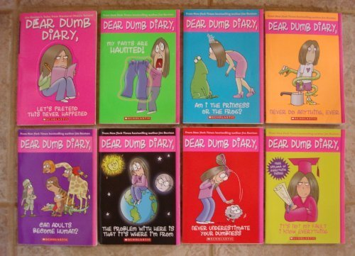 9780545238854: Dear Dumb Diary Set, Books 1-8 (Let's Pretend This Never Happened; My Pants Are Haunted!; Am I the P