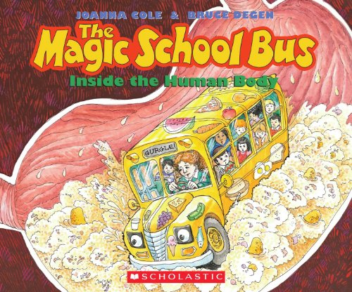 9780545240833: The Magic School Bus Inside the Human Body - Audio