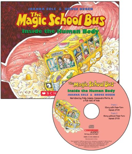 9780545240864: The Magic School Bus: Inside the Human Body [With Paperback Book]