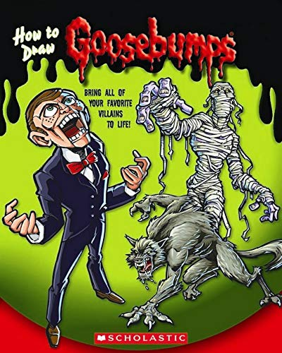 9780545248952: Goosebumps: How to Draw Goosebumps