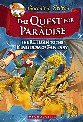 9780545253079: The Quest for Paradise (Geronimo Stilton and the Kingdom of Fantasy)