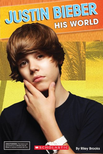 9780545253574: Justin Bieber: His World (Star Scene)