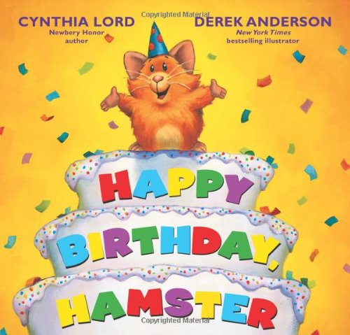 9780545255226: Happy Birthday Hamster (Hot Rod Hamster)