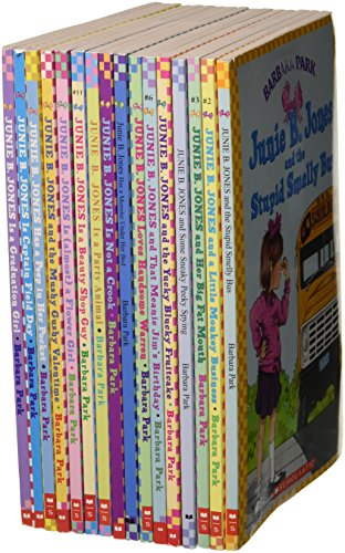 9780545257060: Junie B. Jones 1-16 Set (The Stupid Smelly Bus; A Little Monkey Business; Her Big Fat Mouth; Some Sn