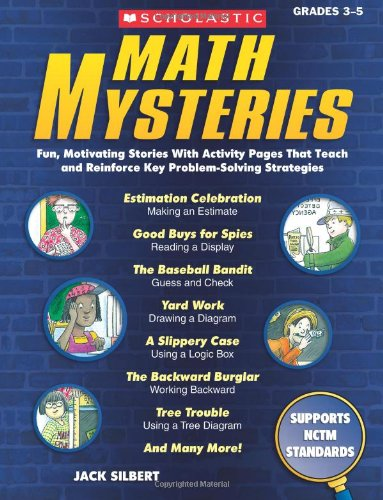 9780545257800: Math Mysteries: Fun, Motivating Stories with Activity