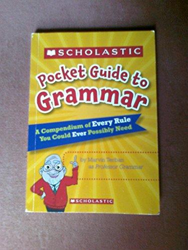 9780545258395: Scholastic Pocket Guide to Grammar