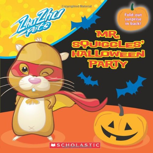 9780545262309: Mr. Squiggles' Halloween Party (Zhu Zhu Pets)
