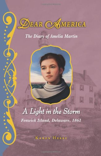 9780545265546: Dear America: The Light in the Storm - Library Edition