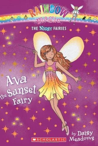 9780545270441: Ava the Sunset Fairy (Rainbow Magic Night Fairies #1)