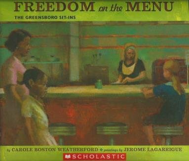 9780545271516: Freedom on the Menu: The Greensboro Sit-ins