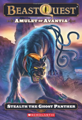 9780545272155: Beast Quest #24: Amulet of Avantia: Stealth the Ghost Panther