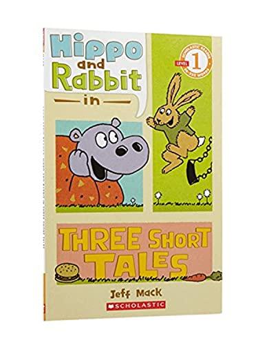 9780545274456: Hippo & Rabbit in Three Short Tales (Scholastic Reader: Level 1)