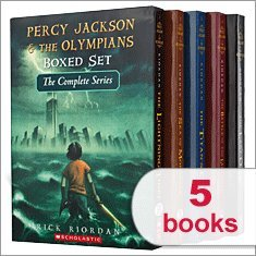 9780545275323: Percy Jackson & The Olympians Boxed Set The Complete Series 1-5: The Last Olympian, The Battle of the Labyrinth, The Titan's Curse, The Sea of Monsters, The Lightning Thief (Percy Jackson and the Olympians)
