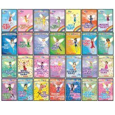 9780545276115: The Rainbow Magic Fairies 28-Book Set: The Complete Original Rainbow Fairies Set, The Complete Jewel Fairies Set, The Complete Petal Fairies Set, and The Complete Sports Fairies Set (Rainbow Magic)